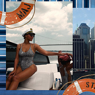 Beyonce Posts Bikini Pictures With Jay Z and Blue Ivy