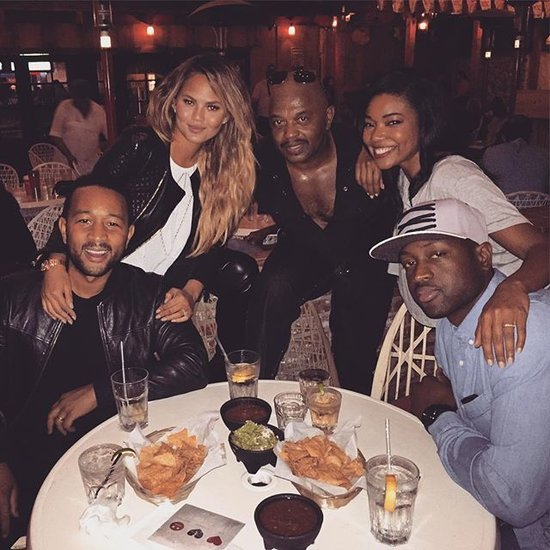 Chrissy and John Double-Date With Gabrielle and Dwayne