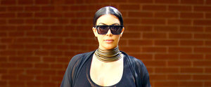Kim's Ladies-Who-Lunch Look Is Straight-Up Sheer and Downright Sexy