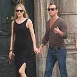 Jude law and his girlfriend pack on the pda during a romantic trip to