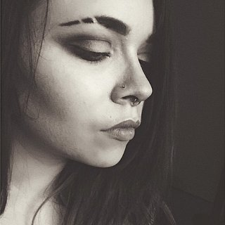 Shaving Your Eyebrows Is Officially Cool