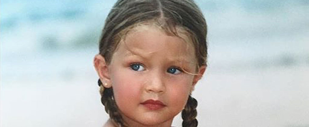 This Baby Photo of Gigi Hadid Proves She Was Born to Be a Model