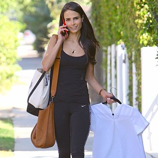 Jordana Brewster After the Gym