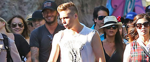 The Beckhams Are the Coolest Crew to Take On Disneyland