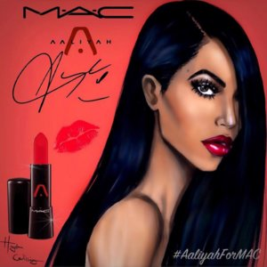 Campaign For Mac Cosmetics Aaliyah Collection