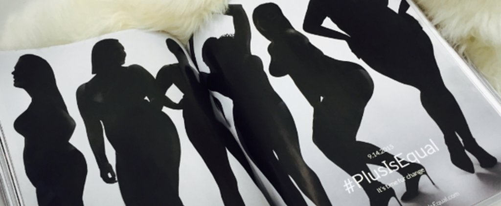 This Fashion Ad Highlights the Blatant Lack of Curvy Models in Vogue