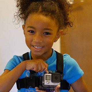 Kindergarten Girl Wears GoPro to First Day of School