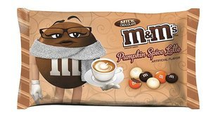 Pumpkin Spice Latte M&M's Are A Real Thing