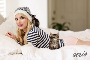 Emma Roberts Stuns in Photoshop-Free Aerie Campaign