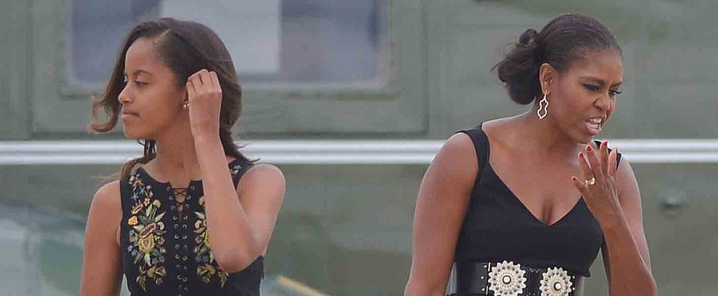 13 Photos That Prove Malia Obama Is Slowly Morphing Into Michelle