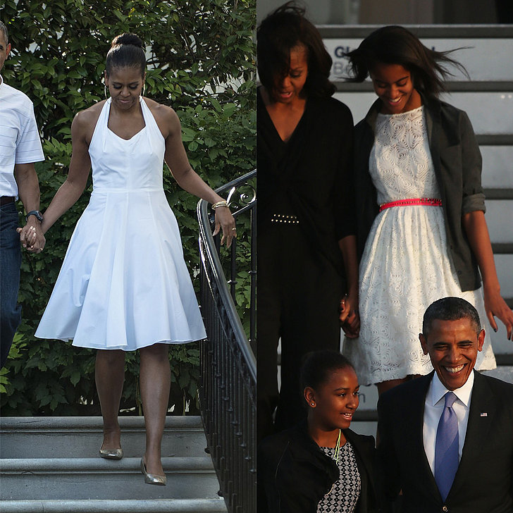 When They Both Looked Fierce In White Fit-and-Flares