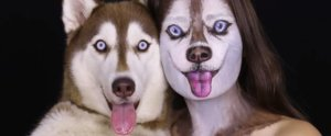 YouTube Makeup Artist Turns Herself Into a Disturbingly Cool Dog