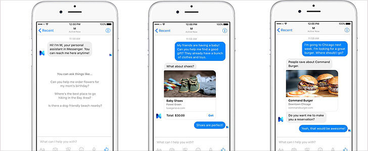 Facebook's New Personal Assistant Can Do Much More Than Siri