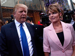 Sarah Palin Interviews Donald Trump as They Express Their Admiration for One Another