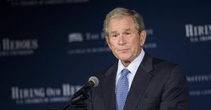 George W. Bush Returns To New Orleans For Hurricane Katrina Anniversary