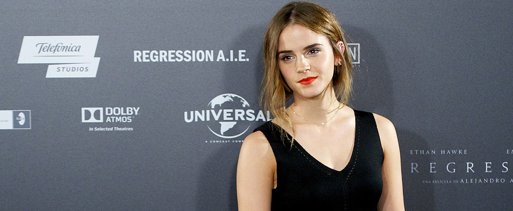 """Emma Watson's """"Going Green"""" on the Red Carpet, and Girl Looks Good"""
