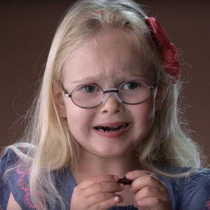 Hilarious Kids Trying Dark Chocolate in Slow Motion