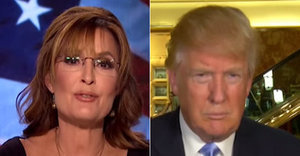 Sarah Palin Interviews Donald Trump For Trump Lovefest