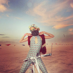How The Fashion Set Dresses For Burning Man