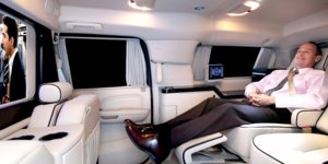 The rich and powerful are going crazy over these luxury SUVs with bathrooms and cable TV
