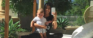 Kourtney Kardashian and Baby Reign Enjoy a Picture-Perfect Day in the Sun