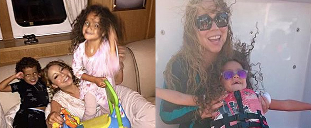 Mariah Carey Shares the Most Adorable Moments From Her Summer Getaway