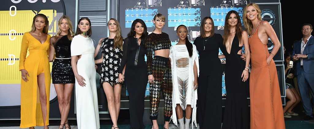 Taylor Swift Makes a Stunning Arrival — With Her Squad — For Her Big Night at the VMAs