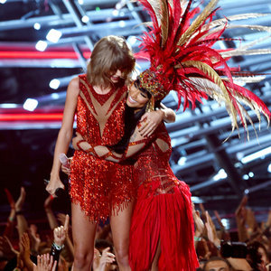 Taylor Swift and Nicki Minaj Performance Outfits VMAs 2015
