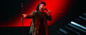 "The Weeknd Stunned the VMA Audience With ""Can't Feel My Face"""