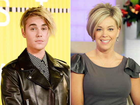Justin Bieber's Hair Looks Just Like Kate Gosselin's at the 2015 VMAs