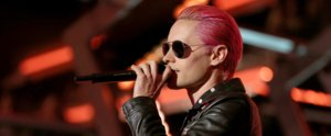 Jared Leto Looks Even Sexier With His New Rose-Gold Hair
