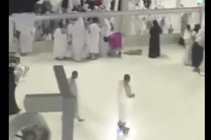 Video Appears To Show Man Circling Kaaba In Mecca On Hoverboard