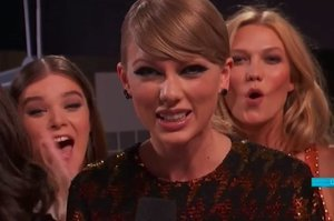 "Someone Definitely, Maybe, Possibly Farted On-Air While Taylor Swift Introduced Her ""Wildest Dreams"" Video"