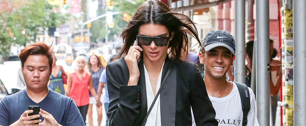 Kendall Jenner Doesn't Need a Red Carpet to Debut a Couple of Stylish Looks