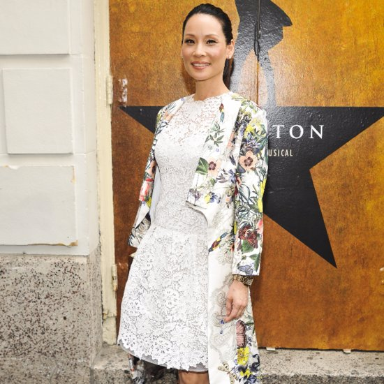 Lucy Liu Posts Instagram Photo of Baby Rockwell