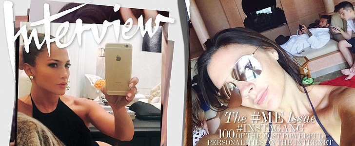 This Is What Happens When Fashion Icons Take Selfies For the Cover of a Magazine