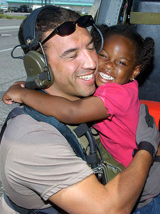 'Katrina Girl' Found! Soldier and the Girl He Rescued During the 2005 Hurricane Will Finally Be Reunited