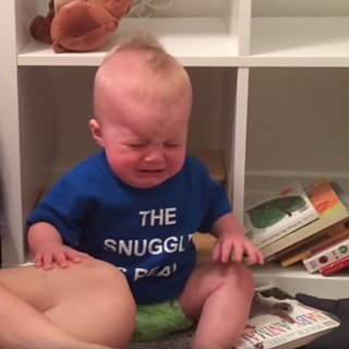 Baby Cries Every Time a Book Ends