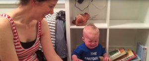 Find Out the Reason This Baby Cries Every Time His Mom Reads to Him