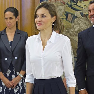 Queen Letizia Fall Work Outfit