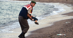 This Photo Shows The Horrific Toll Of Europe's Refugee Crisis