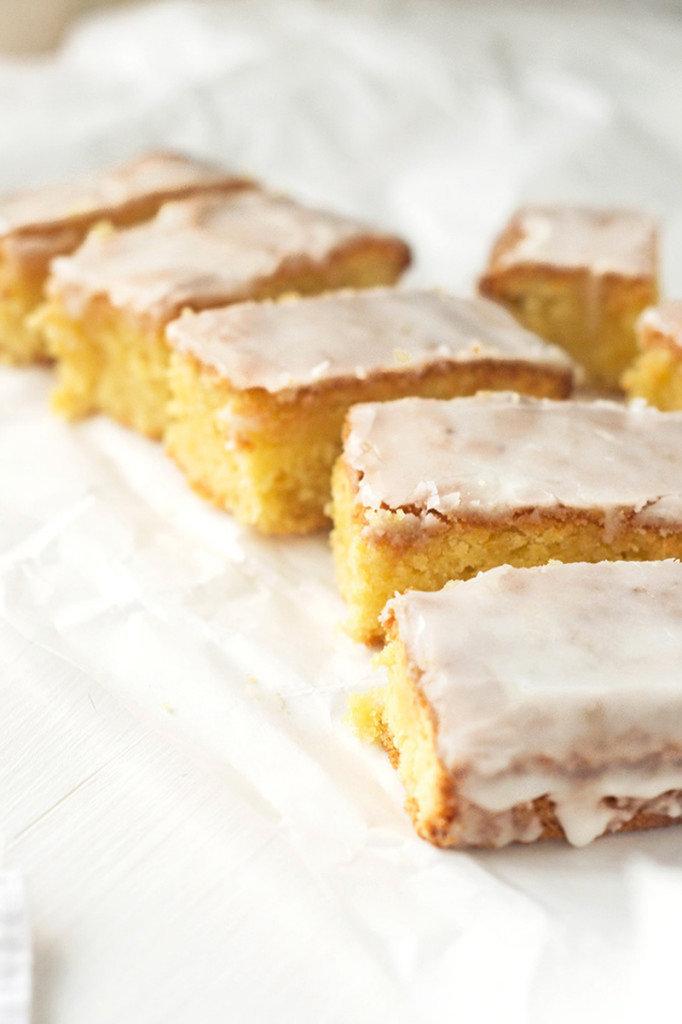 Lemon-Olive Oil Sheet Cake
