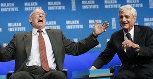 Three Rich Treasury Secretaries Laugh It Up Over Income Inequality