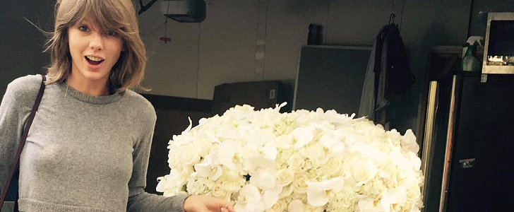 Kanye West Sent Taylor Swift Gorgeous Flowers — See the Sweet Snap!