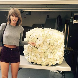 Kanye West Sends Taylor Swift Flowers