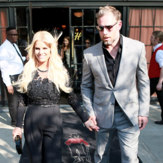 Jessica Simpson and Eric Johnson Hold Hands in NYC 2015