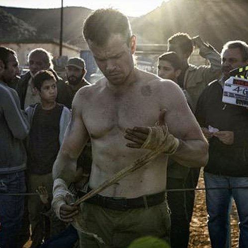 We Did Not Expect the First Picture of Matt Damon Shooting the Next Bourne to Be This Sexy