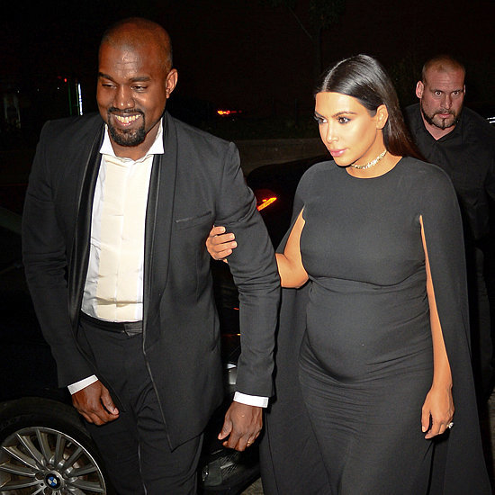 Kim Kardashian Wore the Most Perfect Outfit For an Autumn Wedding