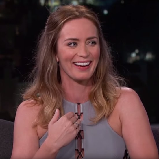 Emily Blunt US Citizenship Test Jimmy Kimmel Live