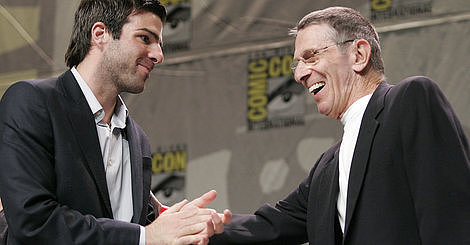 Zachary Quinto Has A 'Spiritual' Connection To 'Star Trek' Forefather Leonard Nimoy